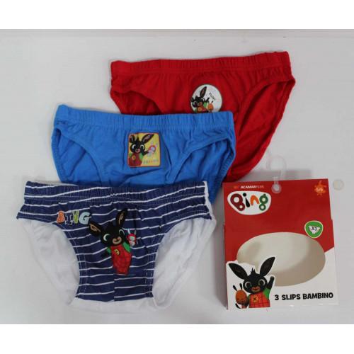 HU8109 Pack of 3 pcs underwear BING BOY # 10 @ 30
