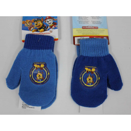 800-639 Knitted gloves - mittens -Paw bow #12 @144