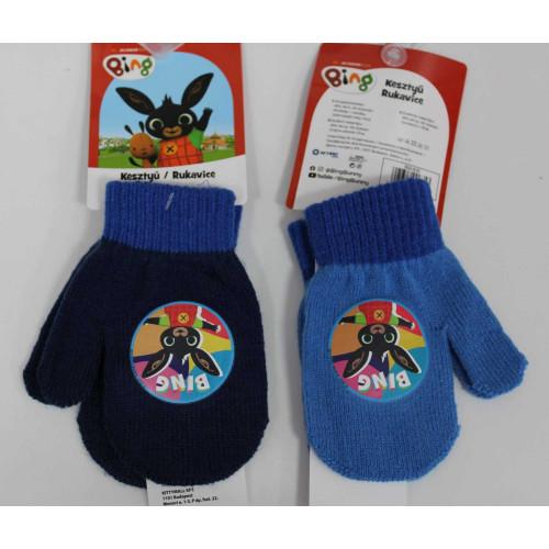 800-635 Knitted gloves - mittens -Bing boy #12 @144
