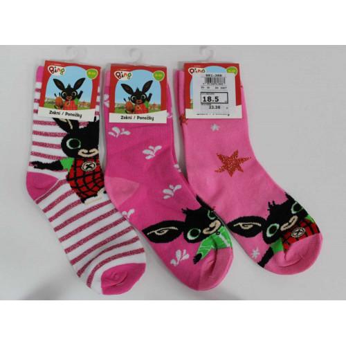 881-388 BING GIRL Classic socks # 30 @ 300
