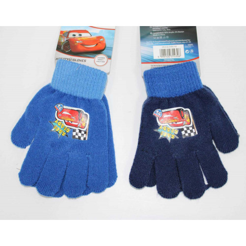 CR-A-GLOVES-143 Knitted gloves - 5 fingers -Cars #12 @144